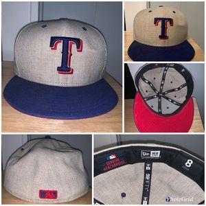 Men's Texas Rangers hat size 8